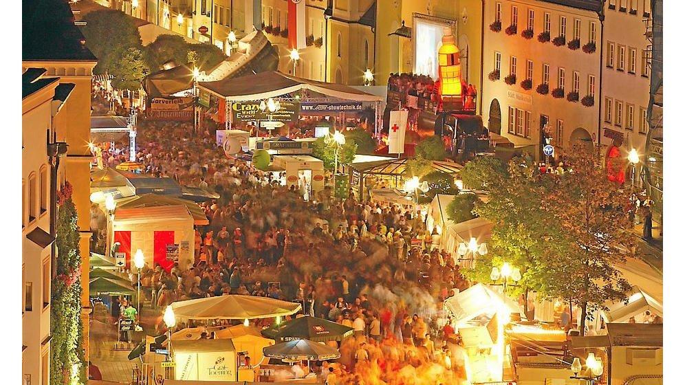 Sicherheitskonzept ging auf: Altstadtfest Mühldorf ohne